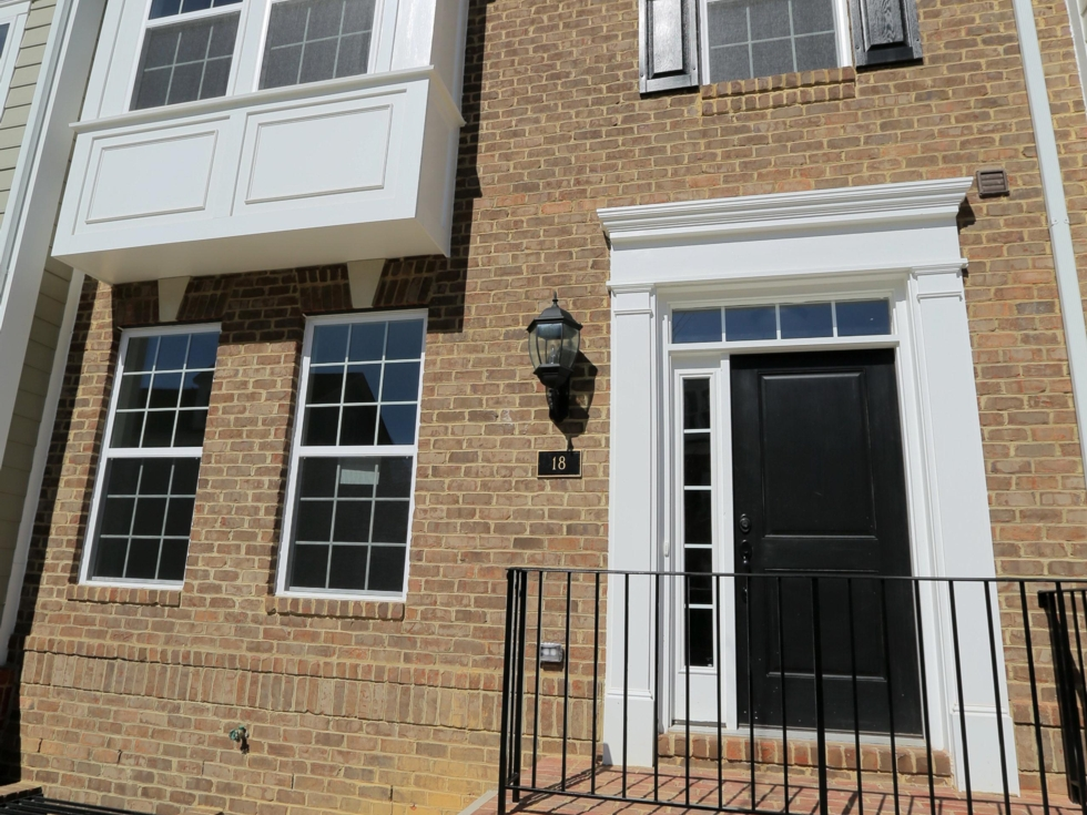 Brick-Front or Composite Exterior with Stoop
