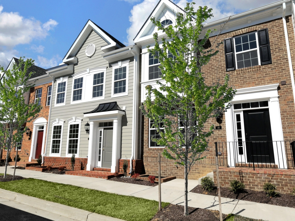 Savannah Townhome with Brick or Composite Siding